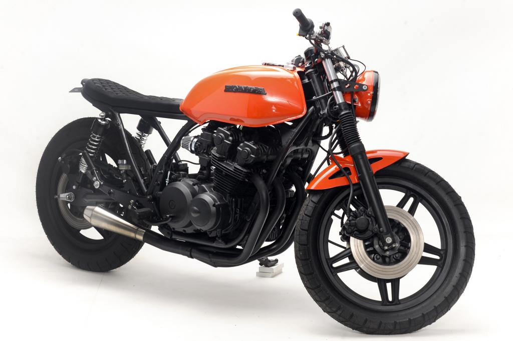 racing caf honda cb 750 1980 midnight by steel bent customs. Black Bedroom Furniture Sets. Home Design Ideas