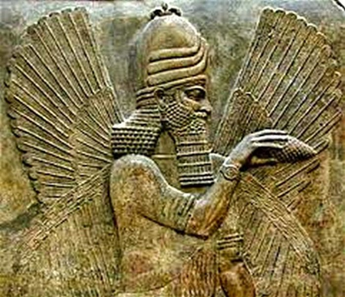 Marduk, dios de la antigua Babilonia