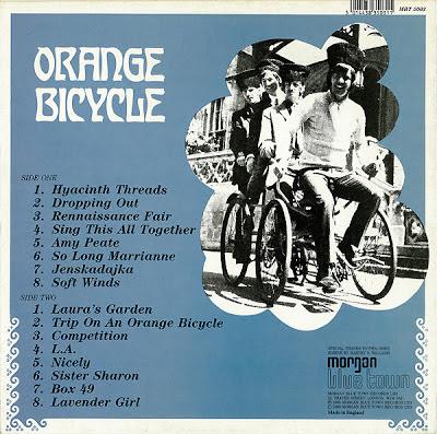 Orange Bicycle - Let's Take  A Trip On An Orange Bicycle