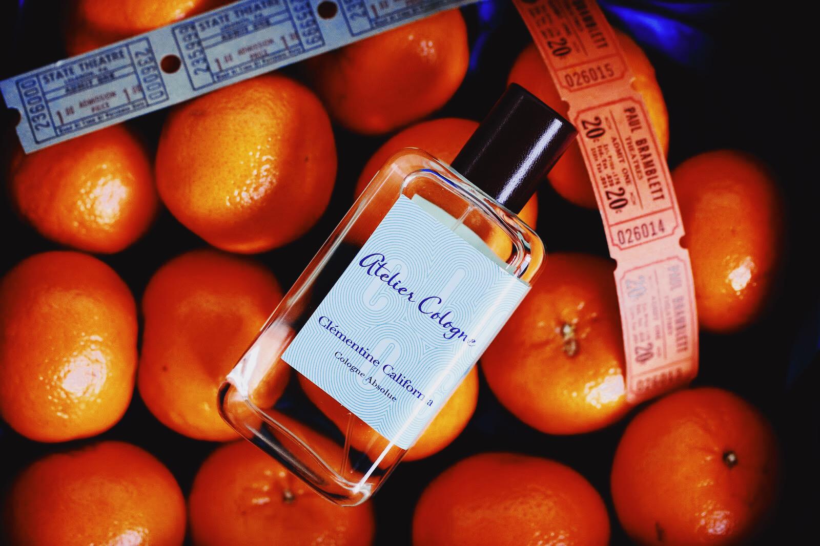 atelier cologne clémentine california parfum avis test critique