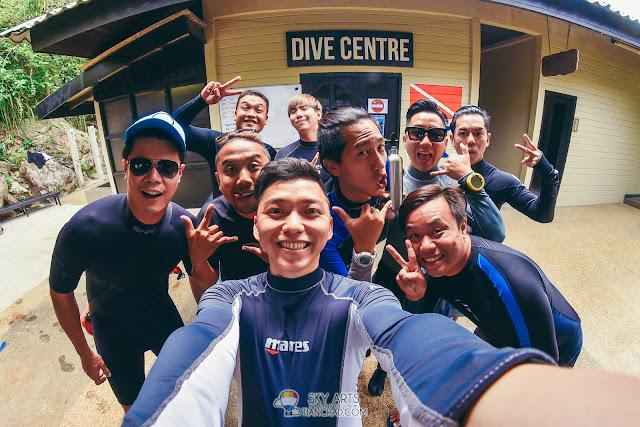 Diving at The Taaras Redang Beach and Spa Resort