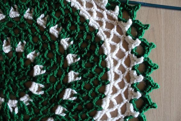 doily, mandala, crochet, WIP