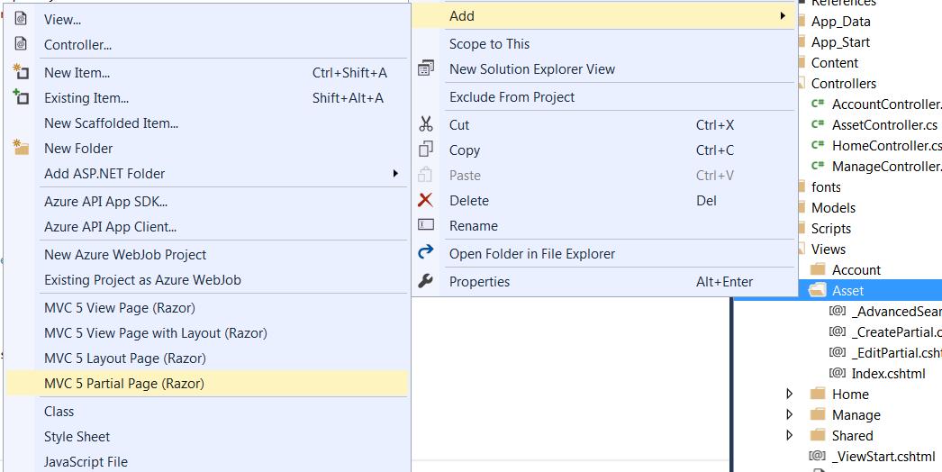AJAX CRUD in Grid using JQuery DataTables in ASP NET MVC 5