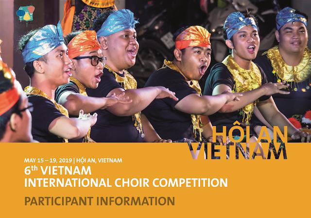 Thông tin Hội thi Hợp xướng Quốc tế Việt Nam lần 6 - Hội An 2019