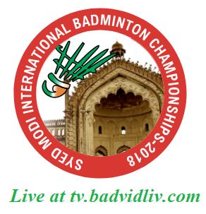 Syed Modi International Badminton Championships 2018 live streaming