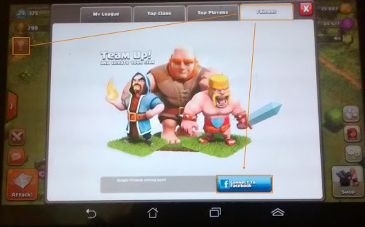 Tutorial Game COC Invite Teman Join Clans di Clash of Clans