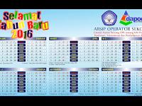 Kalender Operator Sekolah (OPS) 2016 Terbaru