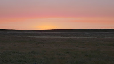 Dunmore, Alberta, sunrise, landscape, Eagle Butte Road
