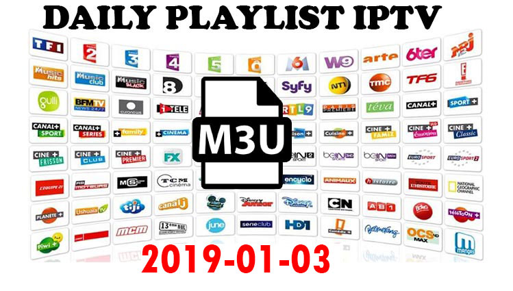 Daily Hit IPTV Links 2019-01-03