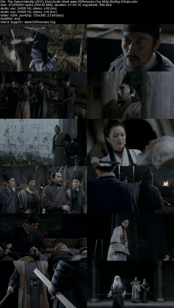 The Sword Identity (2011) Dual Audio Hindi 480p BluRay 300MB