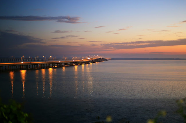 sunrise_Pensacola_bay_interstate_bridge