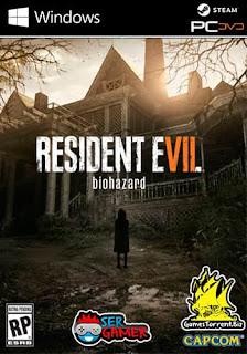 Capa do jogo Resident Evil 7 Biohazad 7 (RE7) PC Gamer PtBR