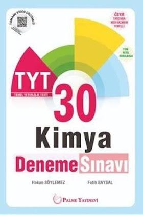 Palme 30 TYT Kimya Deneme PDF indir