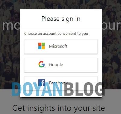 cara verifikasi bing webmaster
