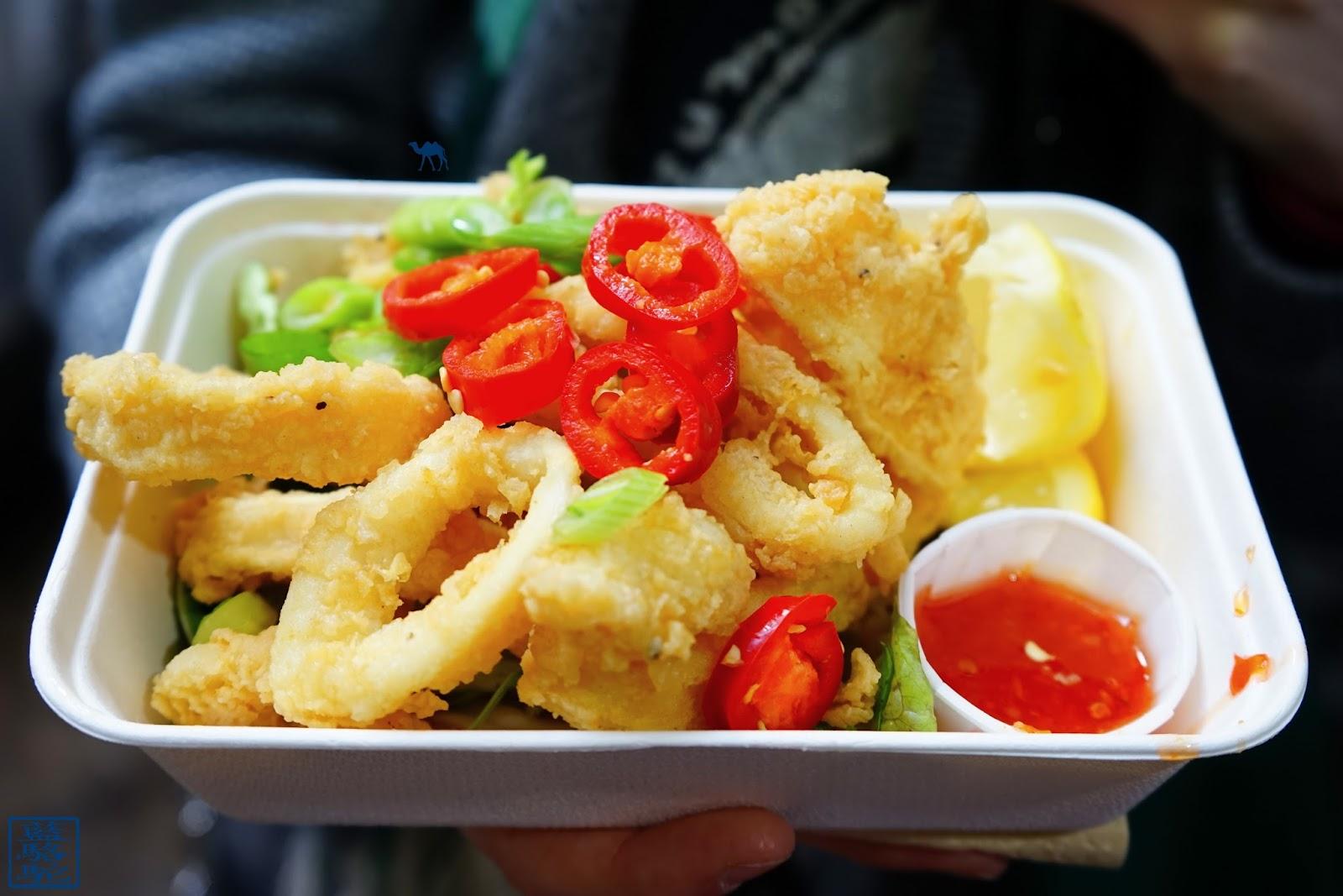 Le Chameau Bleu - Calamars Frits de Borough Market