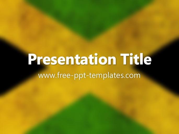 Jamaica ppt template toneelgroepblik Image collections