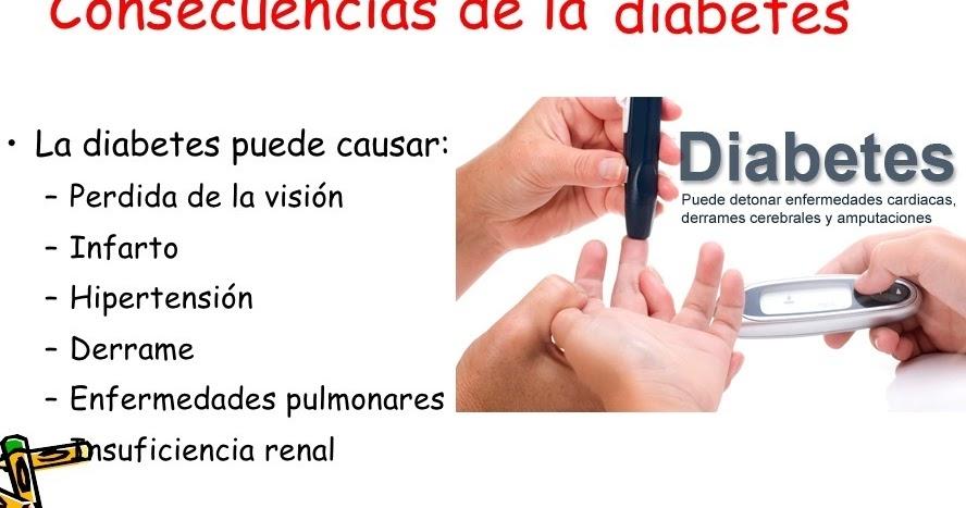 Las Complicaciones y Consecuencias de la Diabetes mellitus