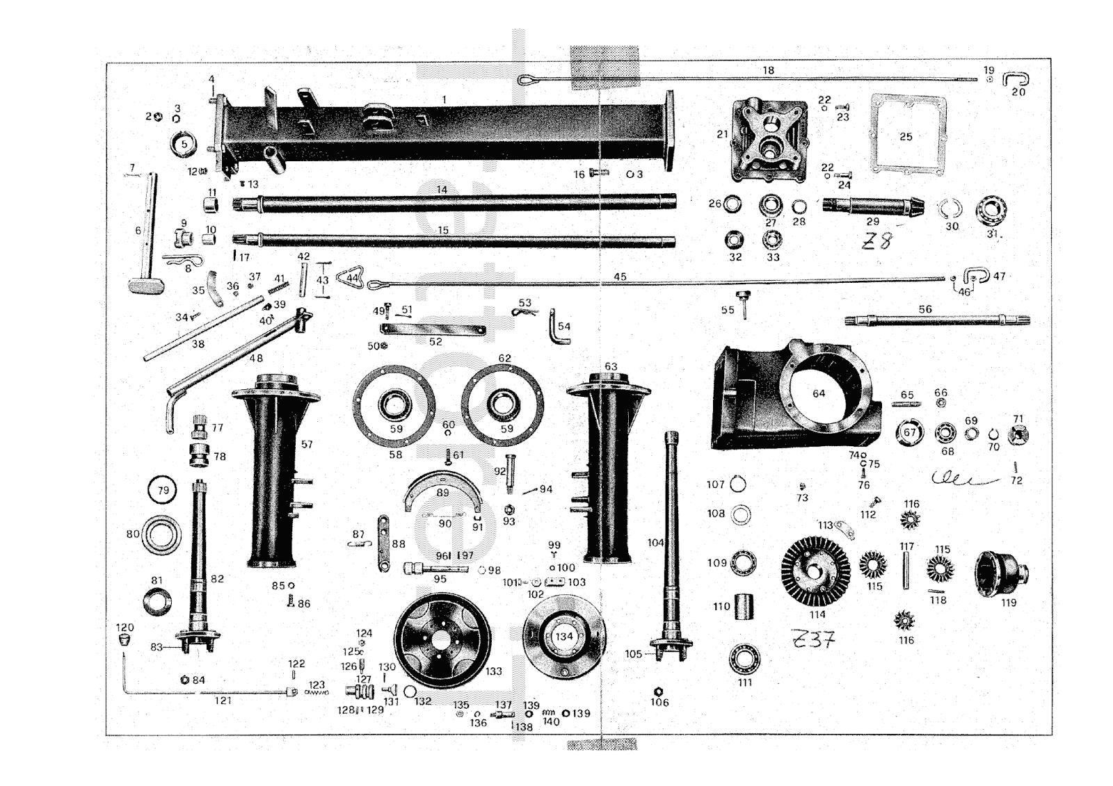 InfoTrattore.it: Carrello motore Pasquali 411 manuale