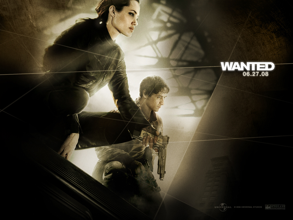 Hollywood Movies Hd Wallpapers: Window 7 HD Wallpaper: Wanted Hollywood Movie HD Wallpaper