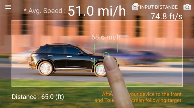 تطبيق يمكنك من تحويل هاتفك الدكي إلى رادار لقياس سرعة السيارات
