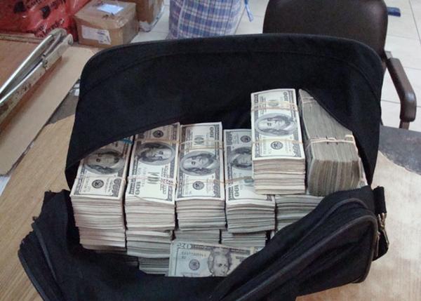robo de dinero