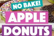 No Bake Apple Donuts Recipe