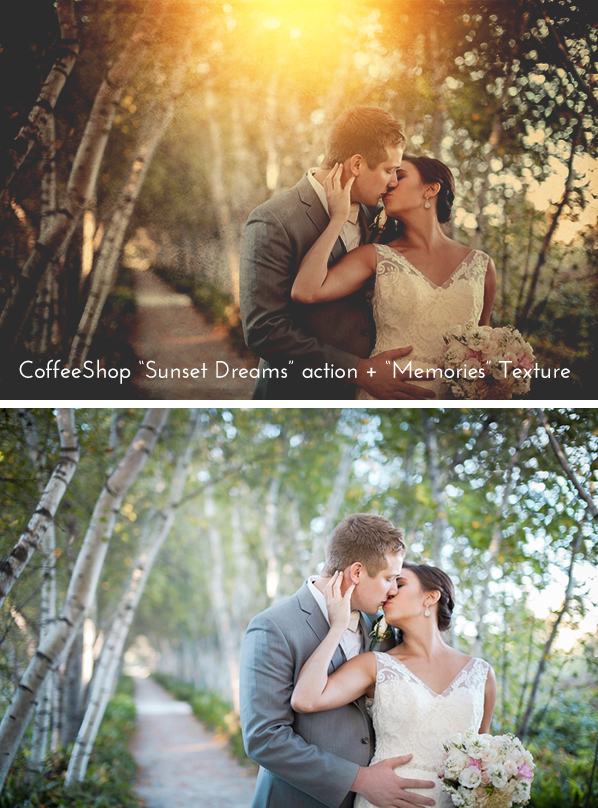 "CoffeeShop ""Textured Sunset Dreams"" Fine Art Photoshop/PSE Tutorial!"