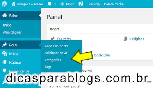 Tags ou Categorias do WordPress