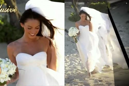 STYLE: MEGAN FOX IN WEDDING DRESS
