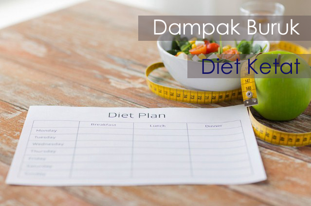 Dampak Buruk Diet Ketat