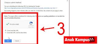 3 Cara Terbaru Agar Artikel Blog cepat dan mudah Terindex Google