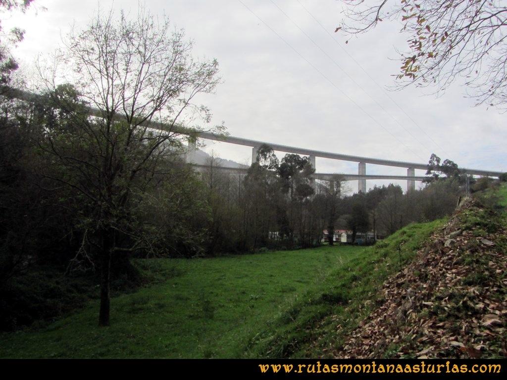 Ruta Artedo, Lamuño, Valsera: Puente de Artedo