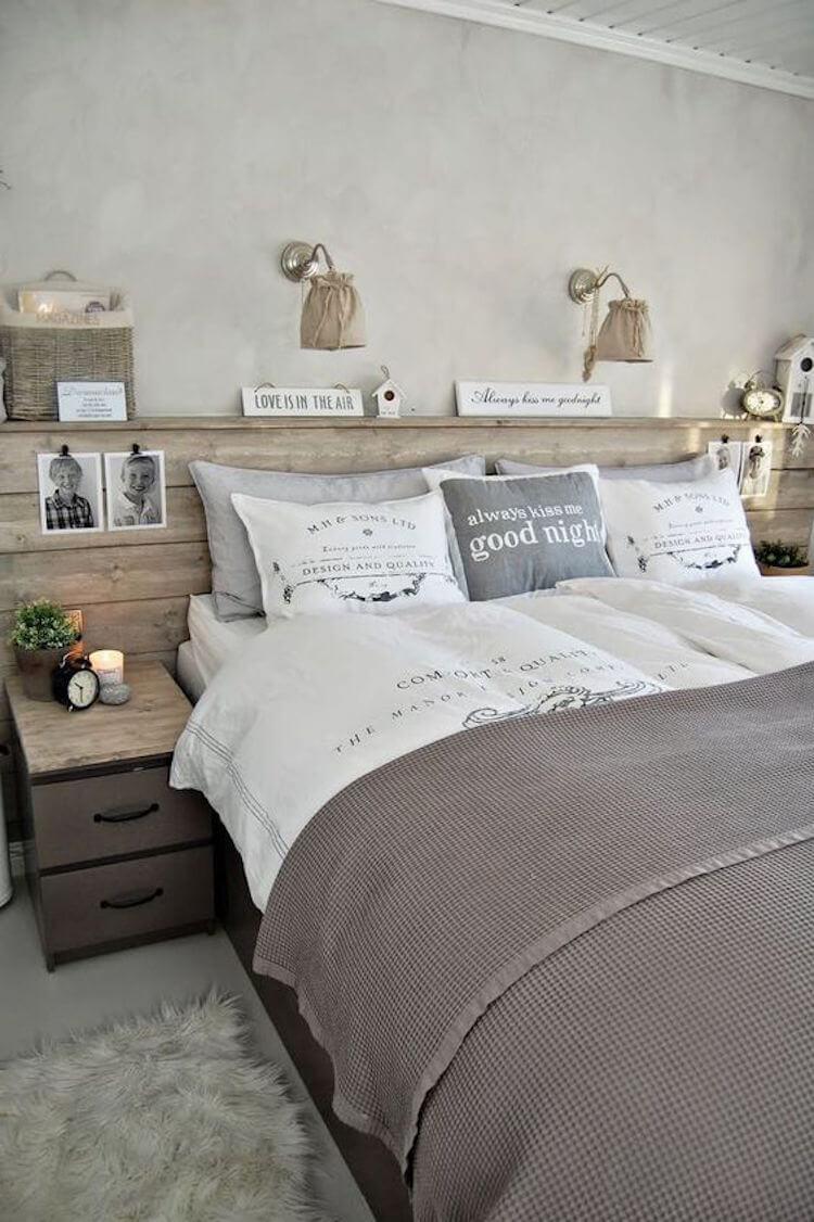 Una pizca de hogar 13 cabeceros que podr s hacer tu mismo - Hacer cabecero cama barato ...