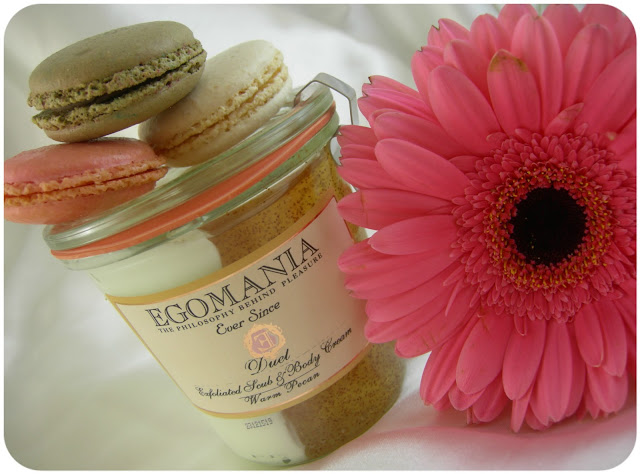 "Скраб и крем для тела ""Теплый Пекан""\Exfoliated scrub and body cream ""Warm pecan"" от Egomania"
