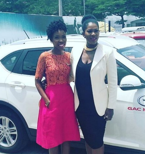 stephanie okereke lala akindoju car