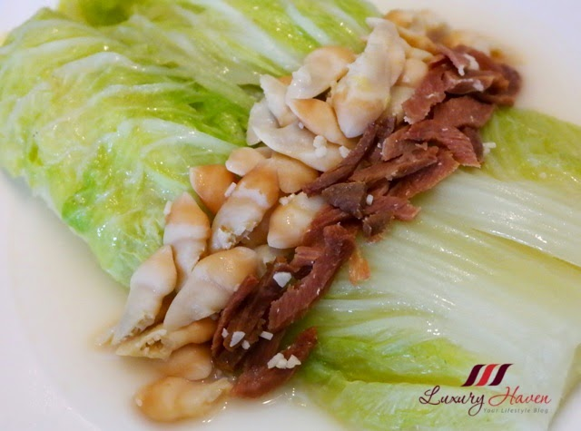 tien jin cabbage chinese ham razor clams recipe
