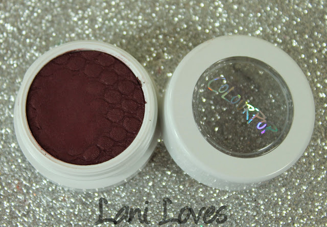ColourPop Super Shock Shadow - Hustle Swatches & Review