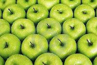 яблоки зеленого цвета
