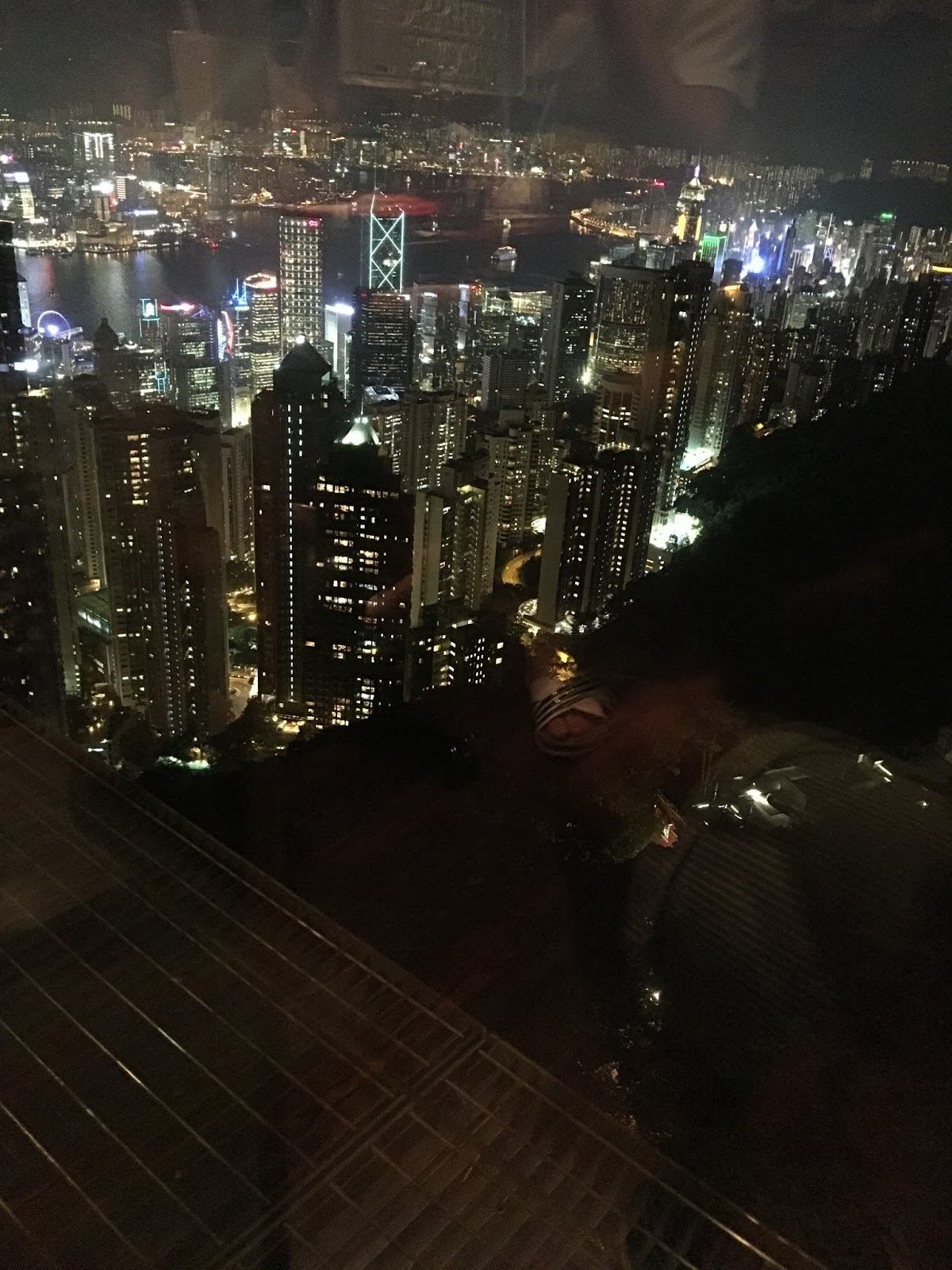 Victoria Peak Bubba Gump Shrimp Co Restaurant View - Aspiring Londoner