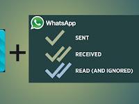 Cara membaca pesan whatsapp tanpa diketahui sang pengirim