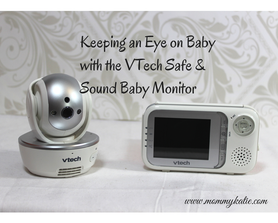 #VTechSafeandSound Don't Miss a thing with the VTech Safe & Sound Baby Monitor