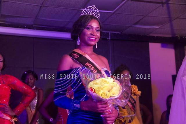 25-Year-Old UNICAL graduate, Undie Emmanuella emerges Miss South-South Nigeria 2018