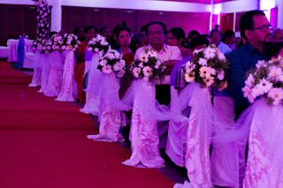 Aisle decor for christian weddings kottayam kerala india,