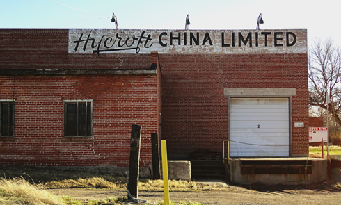 Hycroft China Factory Medicine Hat Alberta