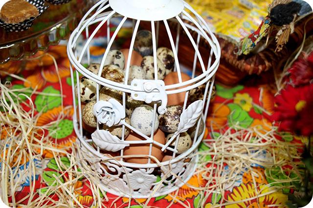 Decoração de Festa Caipira - Junina : Ovos