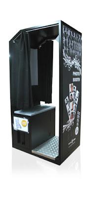 Cabina NG, fotomatón cerrado con cortinas