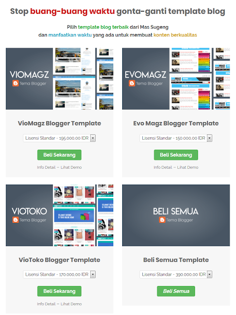 Website Jual Beli Template Blog sugeng.id
