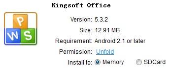 download kingsoft office apk