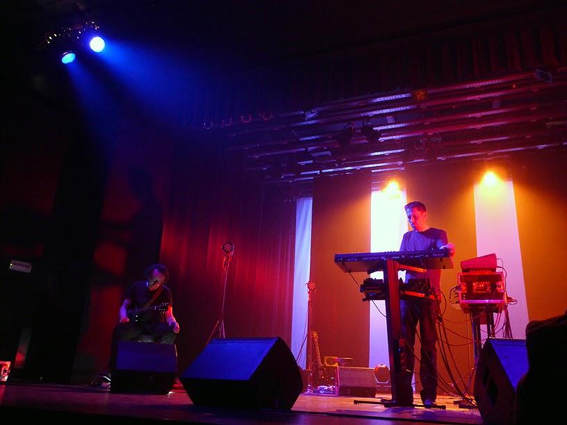 N-O (Sjaak Overgaauw + Hellmut Neidhardt) @ Antwerp Ambient Festival 2014 / photo S. Mazars