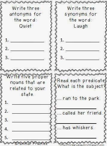 Third Grade Galore: 3rd Grade Summer Review Packet